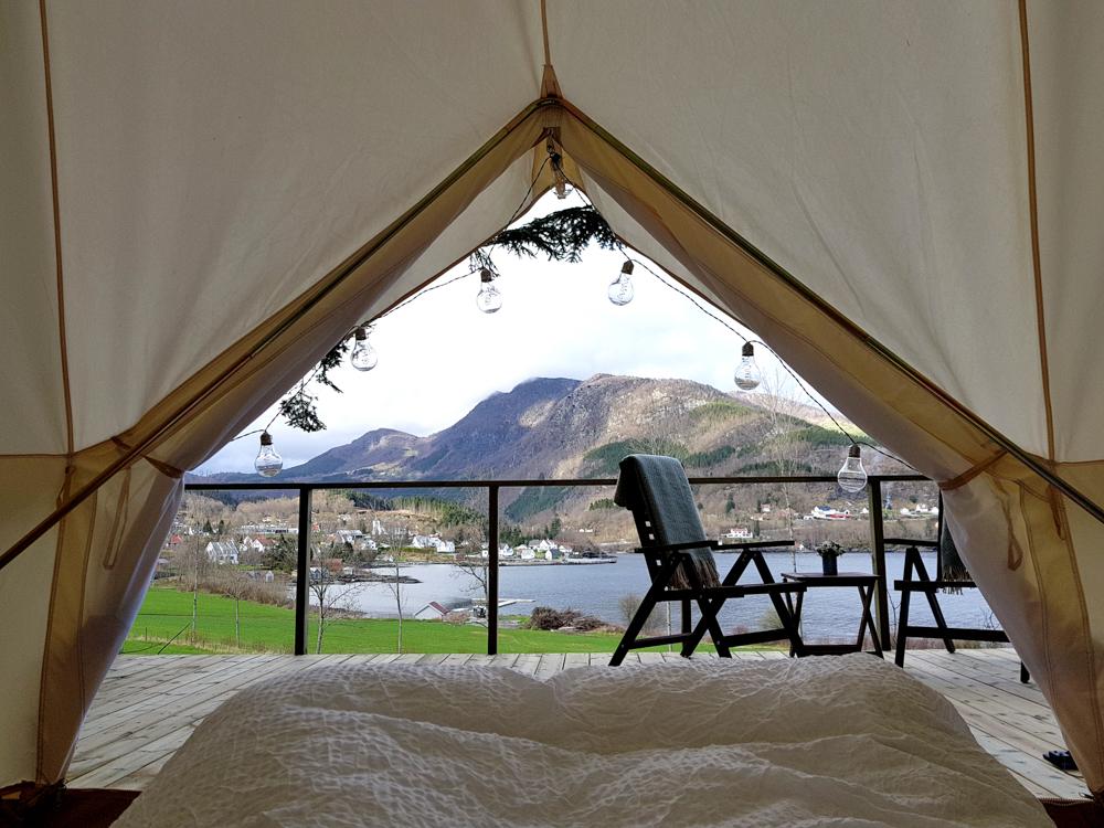 Glamorøs – camping i Nedstrand
