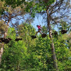Høyt og Lavt Nedstrand klatrepark